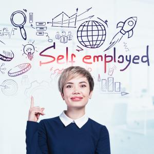 self employment, woman, self assessment