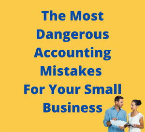 Business Mistake, Couple Accounting Mistakes