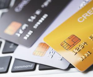 Business Credit Card, keyboard
