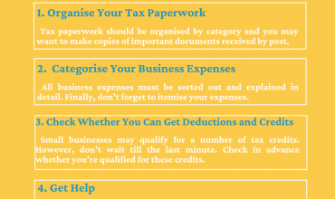 Are you Ready For Your Tax Return? Four Tax Preparation Tips to Follow